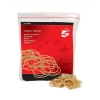 5 Star Rubber Bands No.16 Each 63x1.5mm Approx 2000 Bands [Bag 0.454kg]