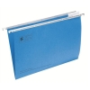 5 Star Suspension File Manilla Heavyweight with Tabs and Inserts Foolscap Blue [Pack 50]