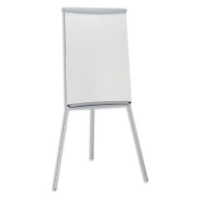 5 Star Flipchart Easel with W670xH990mm Board W700xD82xH1900mm Grey Trim