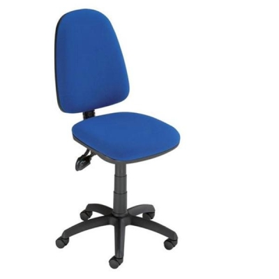 Trexus Office Operator Chair Asynchronous High Back H500mm W460xD430xH460-580mm Blue