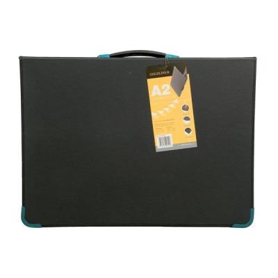 Goldline Presentation Case Vinyl Metal Trim Capacity 20 Sleeves 6 Ring A2 Black Ref BPCJ1A2BKZ