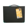 Goldline Presentation Case Vinyl Metal Trim Capacity 25 Sleeves 3 Ring A3 Black Ref BPCJ1A3BKZ