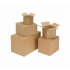 Packing Carton Single Wall Strong Flat Packed 229x222x171mm [Pack 25]