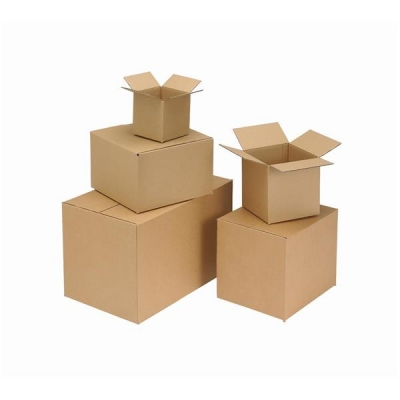 Packing Carton Double Wall Strong Flat Packed 510x510x430mm [Pack 15]