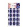 Avery Packets of Labels Diam.8mm Blue Ref 32-304 [10x520 Labels]