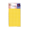 Avery Packets of Labels Diam.8mm Yellow Ref 32-303 [10x520 Labels]