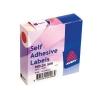 Avery Label Dispenser for Diam.19mm Red Ref 24-506 [1120 Labels]