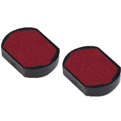 Trodat Replacement Ink Pad 646019 Red Ref 14639 [Pack 2]
