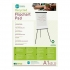 Flipchart Pad Recycled Perforated 55gsm 40 Sheets A1 White [Pack 5]