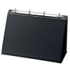 Easel Presenter Collapsible Flip Over 4 Ring 20mm Landscape A4 Black