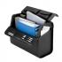 Alassio Mondo Trolley Pilot Case Laptop Compartment 2 Combination Locks Leather-look Black Ref 45033