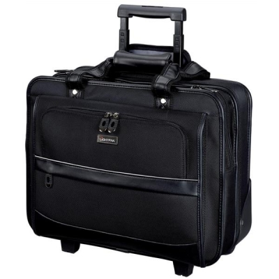 Lightpak Business Trolley Laptop Nylon Capacity 17in Black Ref 92707