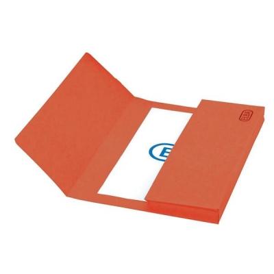 Elba Boston Document Wallet Pressboard 275gsm Foolscap Red Ref 100090136 [Pack 25]