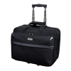 Lightpak Business Trolley Bag with Laptop Compartment Nylon Capacity 17in Black Ref 46099