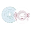 Chartwell Tachograph Discs Kienzle Combined Manual and Automatic Ref CK801/1101GZ [Pack 100]