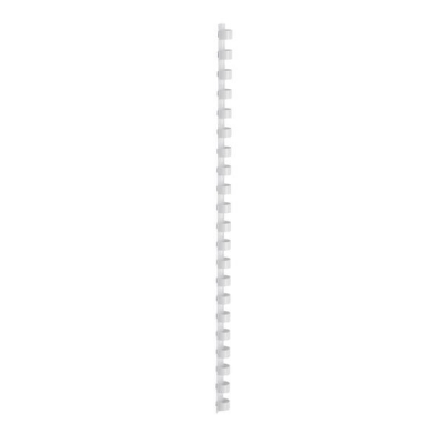 5 Star Binding Combs Plastic 21 Ring 65 Sheets A4 10mm White [Pack 100]