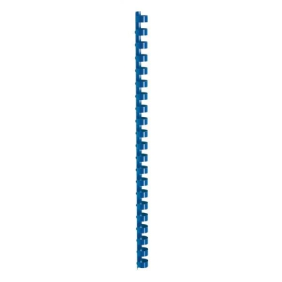5 Star Binding Combs Plastic 21 Ring 95 Sheets A4 12mm Blue [Pack 100]