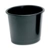5 Star Waste Bin Polypropylene 14 Litres D304xH254mm Black