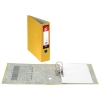5 Star Lever Arch File 70mm Spine Foolscap Yellow [Pack 10]