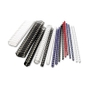 GBC Binding Combs Plastic 21 Ring 25 Sheets A4 6mm White Ref 4028193U [Pack 100]