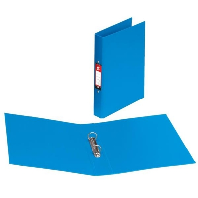 5 Star Ring Binder Polypropylene 2 O-Ring Size 25mm A4 Blue [Pack 10]