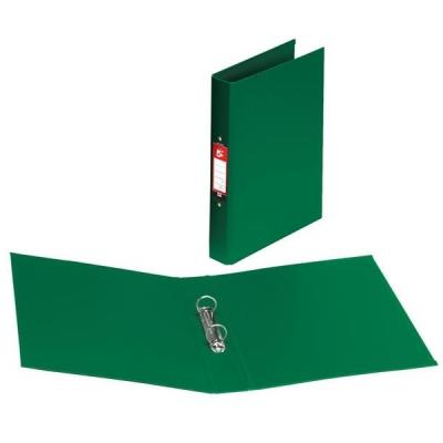 5 Star Ring Binder Polypropylene 2 O-Ring Size 25mm A4 Green [Pack 10]