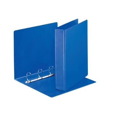 Esselte Presentation Ring Binder Polypropylene 4 D-Ring 40mm A4 Blue Ref 49762 [Pack 10]