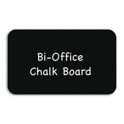 Bi-Office Chalkboard with Rounded Corners for Easel 900x600mm Ref PM0715397