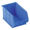Container Bin Heavy Duty Polypropylene W240xD150xH132mm Blue [Pack 10]