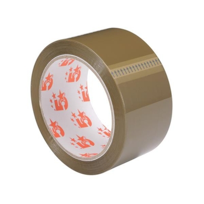 5 Star Packaging Tape Polypropylene 50mm x 66m Buff