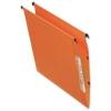 Bantex Linking Lateral File Kraft 210gsm V-base W330mm Orange Ref 100330742 [Pack 25]