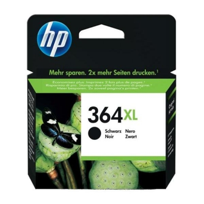 Hewlett Packard [HP] No. 364XL Inkjet Cartridge Page Life 550pp Black Ref CN684EE #ABB