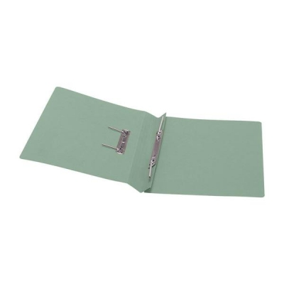 5 Star Transfer Spring File 285gsm 38mm Foolscap Green [Pack 50]