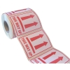 Parcel Labels This Way Up 108x79mm on Roll Diameter 210mm [500 Labels]