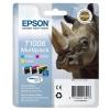 Epson T1006 Inkjet Cartridge DURABrite Ultra Rhino Cyan/Magenta/Yellow Ref C13T10064010 [Pack 3]