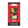 Lexmark No. 33 Inkjet Cartridge Page Life 190pp Colour Ref 018CX033E