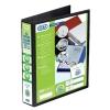 Elba Panorama Presentation Ring Binder PVC 4 D-Ring 50mm Capacity A4 Black Ref 400008430 [Pack 4]