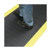 Orthomat Charcoal and Yellow Mat Vinyl Foam Size 600x900mm Ref AF010701