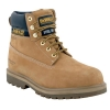 Dewalt Safety Boots 6 inch Nubuck Steel-midsole Chemical-resistant Size 11 Wheat Ref Explorer 11