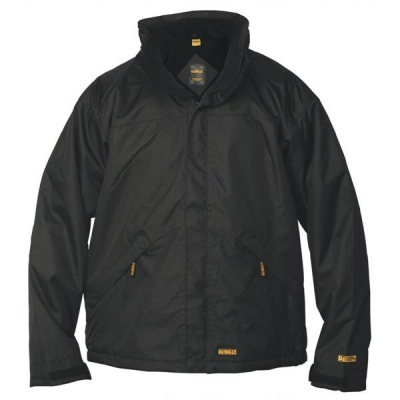 Dewalt Waterproof Jacket Microfleece Lined Internal Phone and Document Pockets X-Large Ref Site jacket XL