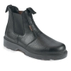 Sterling Work Site Dealer Boots Steel-toe Cap & Midsole Shock-absorbent Size 12 Black Ref SS600SM12
