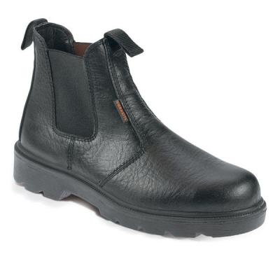 Sterling Work Site Dealer Boots Steel-toe Cap & Midsole Shock-absorbent Size 12 Black Ref SS600SM12
