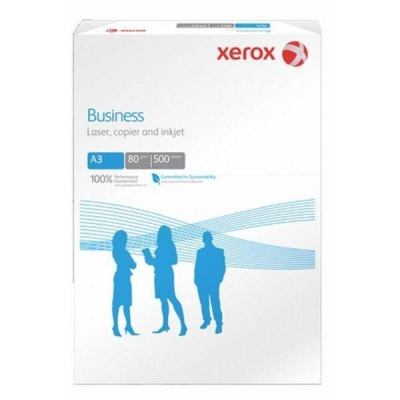 Xerox Business Multifunctional Paper Ream-Wrapped 80gsm A3 White Ref 003R91821 [500 Sheets]