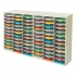 Literature Sorter Melamine-laminated Shell 72 Compartments [2x36 Sorters]