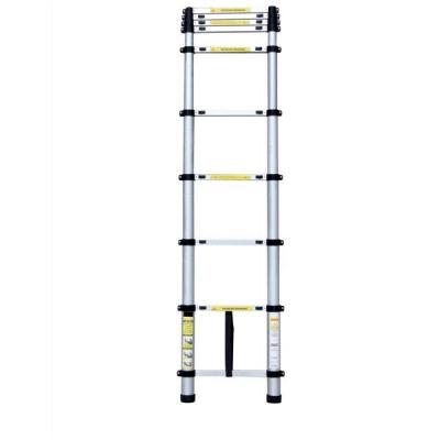 Telescopic Ladder Aluminium Lightweight Sturdy for Load 150kg 11 Steps 3.2m Extended