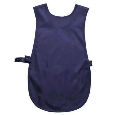 Portwest Tabard Vest Polyester & Cotton Large Royal Blue Ref S843RYLBLULGE