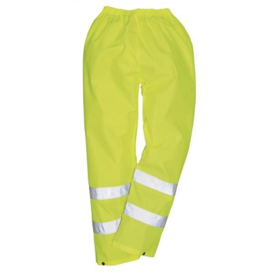 Portwest High Visibility Trousers EN343 Class 3 Protection Large Yellow Ref S480LGE