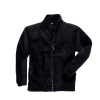 Portwest Heavy Fleece Jacket Polyester Zipped-pockets Medium Black Ref F400BLKMED