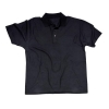 Portwest Polo Shirt Polyester & Cotton Rib-knitted Collar Black Medium Ref B210BLKMED