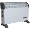 5 Star Convector Heater Electric 2 Heat Settings 2kW White and Black